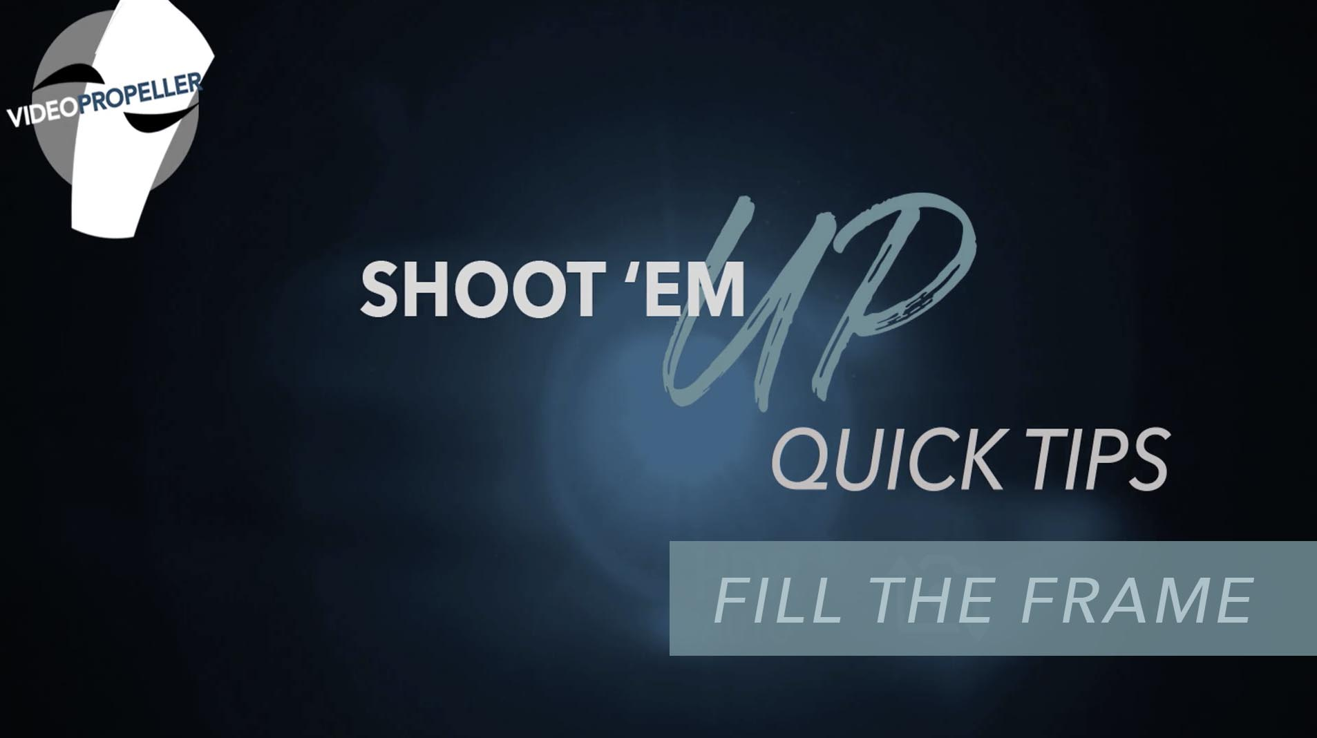 Quick Tip from Shoot 'Em Up Series