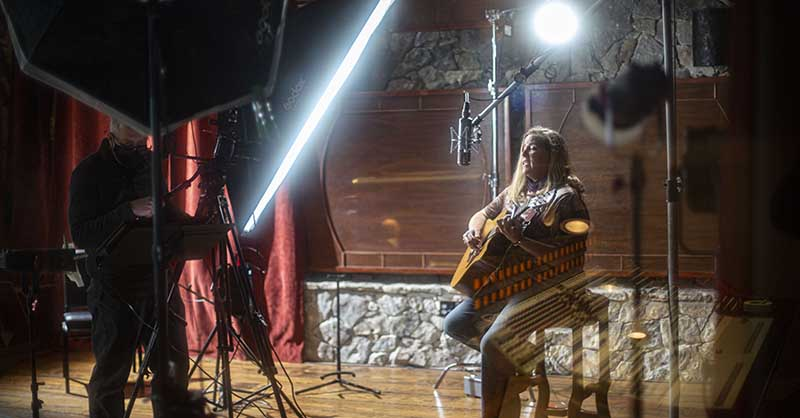Video Shoot with Susan Gibson